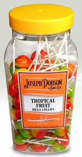 R03 DOBSONS TROPICAL FRUIT LOLLY 1X90